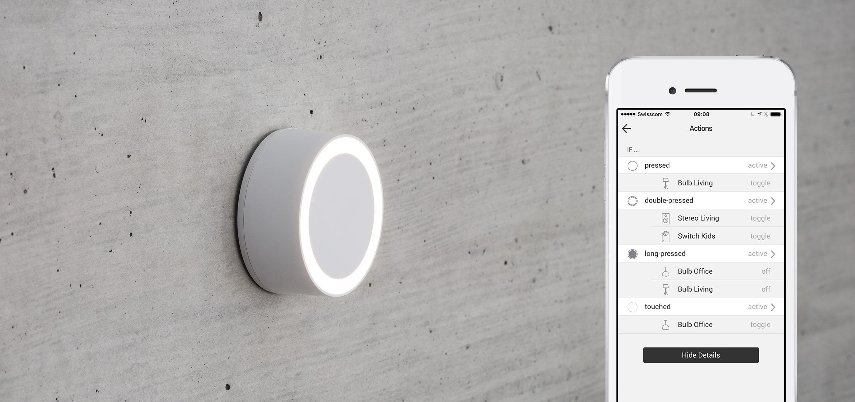 WiFi Button Plus | Smart Home | myStrom