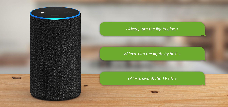Voice Control Smart Home Mystrom